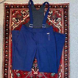 VTG White Stag Ski Pants w/ Stirrups & Suspenders